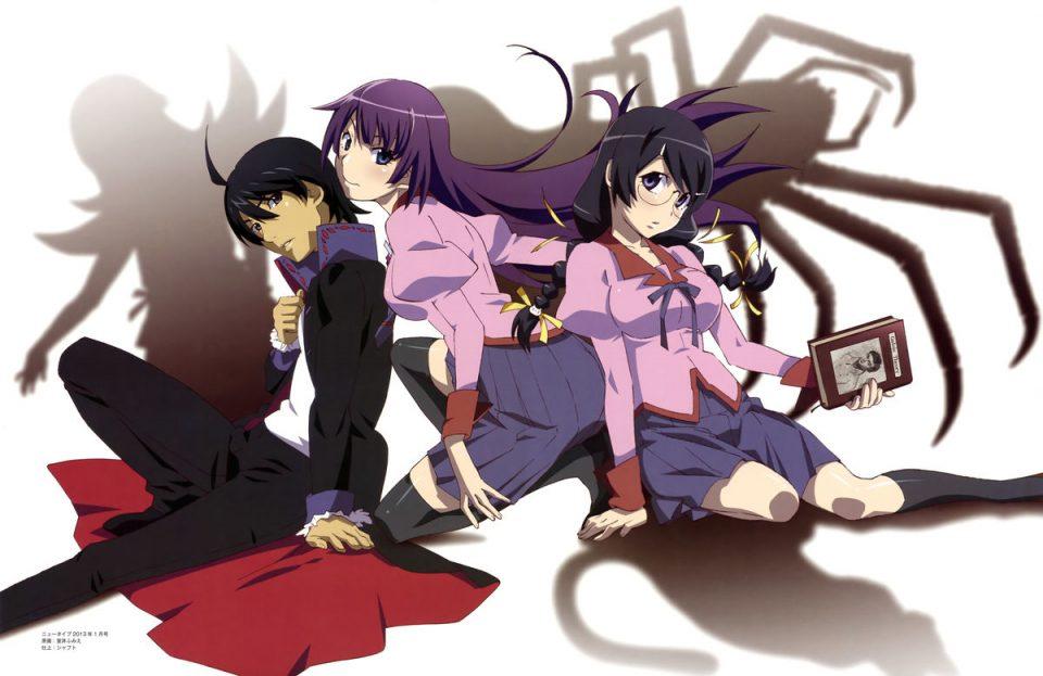 Monogatari Series Heroine Book Hanekawa Tsubasa
