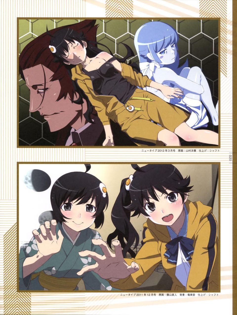Monogatari Series Heroine Book Fire Sisters