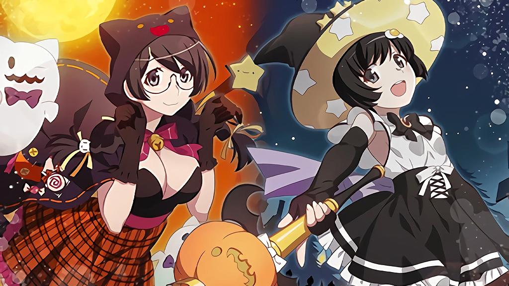 Monogatari Raccolta Immagini Halloween